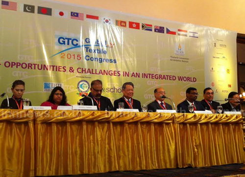 รมว.อุตฯเปิดประชุมGlobal Textile Congress