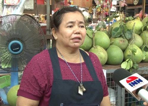 ผู้ค้าตลาดมณีพิมานเผยตรุษจีนปีนี้ลูกค้าลดจับจ่าย