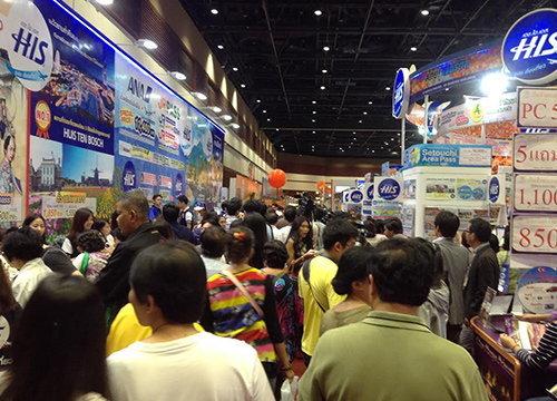 งานเที่ยวทั่วไทยไปทั่วโลกครั้งที่17คึกคัก