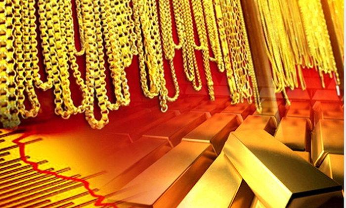 ราคาทองร่วงแรงลง 350 บาท กดทองรูปพรรณขายออก 20,600 บาท