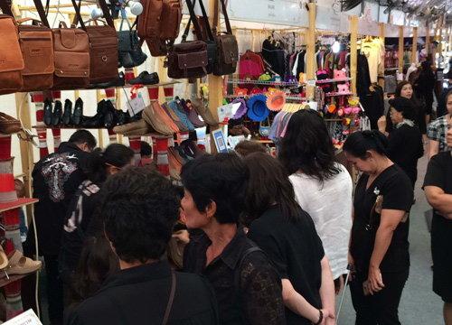 ปชช.ทยอยร่วมงานตลาดคลองผดุงกรุงเกษม