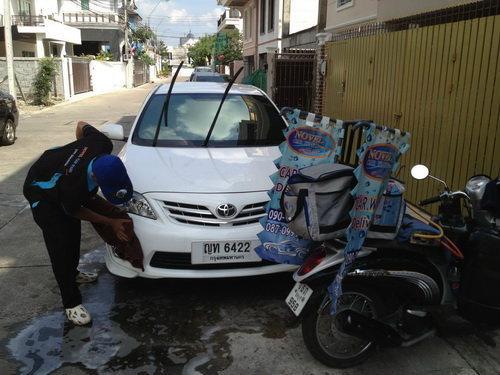 ล้างรถ Delivery คิดต่าง สร้างอนาคต