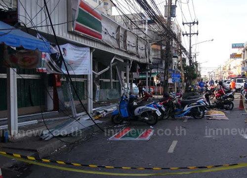 หอค้าสงขลารอสรุปเสียหายเหตุระเบิด