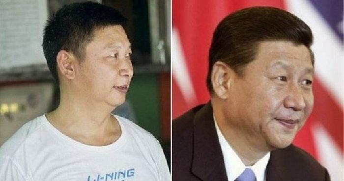 """หนุ่มขายขนมพายจีน""""ดังใหญ่"""" คนแห่รุมถ่ายรูปเหตุ""""หน้าเหมือน""""ผู้นำประเทศ(ชมภาพ)"""