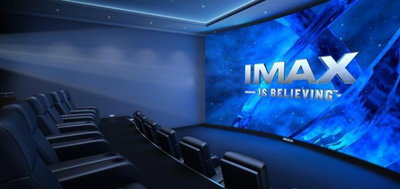 IMAX screens cleaner