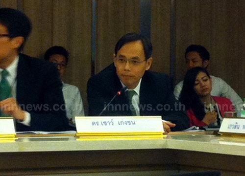 เชาว์คาดสหรัฐฯลดอันดับค้ามนุษย์ไทยฉุดGDPไม่ถึง1%