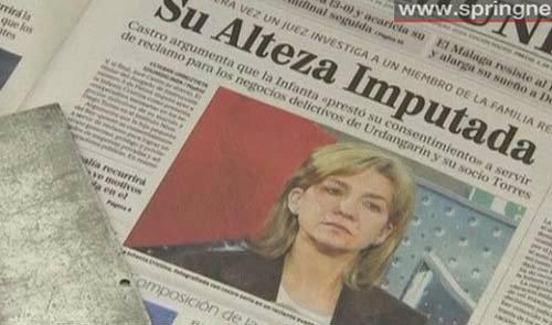 เจ้าหญิงสเปนเผชิญข้อหาโกงภาษีและฟอกเงิน!!