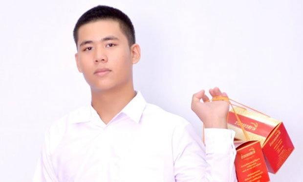 เด็กหนุ่มใจถึง ลงทุนครึ่งล้าน ขายขนมกินเล่นสไตล์จีน