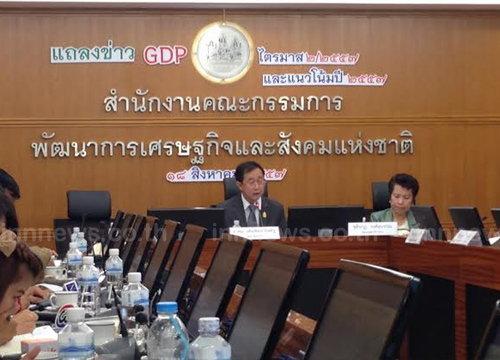 สศช.คาดปี58เศรษฐกิจไทยขยายตัว3.5-4.5%