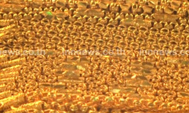 ทองรูปพรรณขายออกบาทละ19,550บาท
