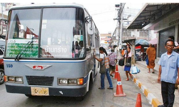 """ยุติบริการ""""รถเมล์""""เมืองพิษณุโลก น้ำมันแพงผู้โดยสารลดขาดทุนยับ"""