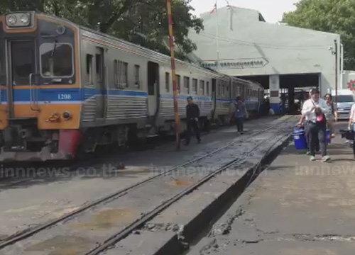 ร.ฟ.ท.นำสื่อดูการป้องกันอุบัติเหตุทางตัดรถไฟ