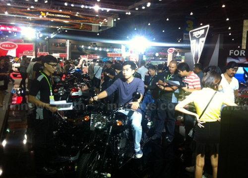 Motor Expo วันที่ 3 ช่วงเย็นคึกคัก