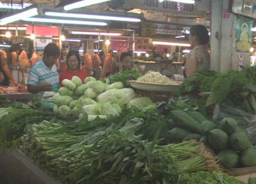 พณ.เผยวันนี้ราคาผักเปลี่ยนแปลงหลายรายการ