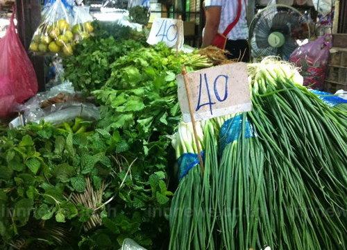 ราคาผักสดปรับลงตั้งแต่ช่วงหลังเทศกาลปีใหม่