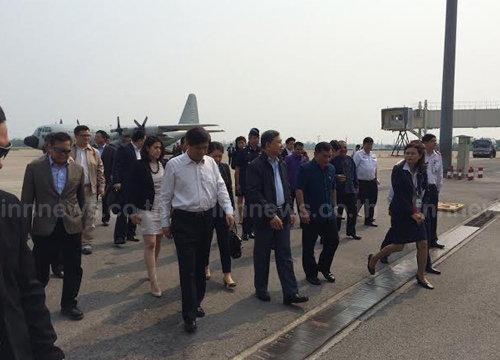 ประจินถึงหนองคายเริ่มประชุมรถไฟไทย-จีน