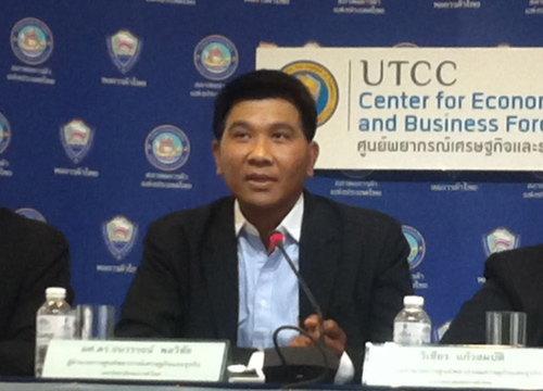 หอการค้าไทยแถลงผลสำรวจดัชนีความเชื่อมั่นของผู้บริโภค