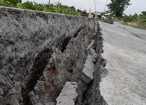 ทางหลวงชนบทคาดซ่อมถนนคันคลอง7วัน