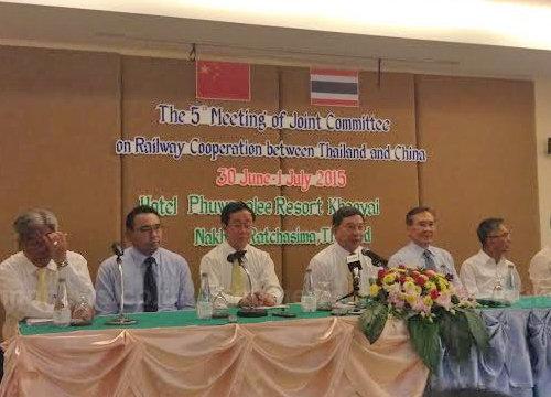 คมนาคม ยังไม่สรุปลงทุนรถไฟไทย-จีน