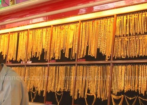 ราคาทองคงที่รูปพรรณขายออก20,500บาท