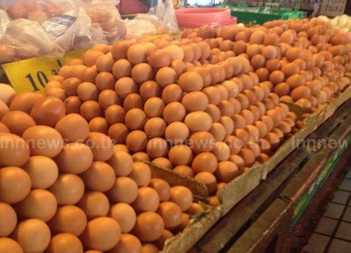 พณ.เผยวันนี้ราคาไข่ไก่ลดลงฟองละ10สต.