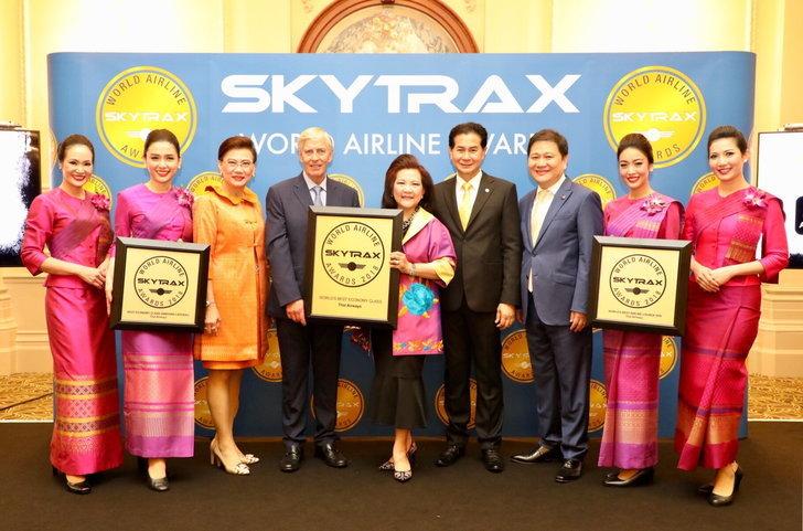 การบินไทยรับรางวัลสายการบินยอดเยี่ยม