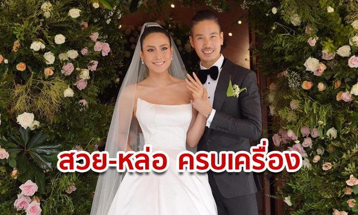 นิ้ง โศภิดา แต่งงานกับ เจได ไตรนุภาพ หนุ่มนักธุรกิจที่ทำเงินได้หลักร้อยล้านบาท