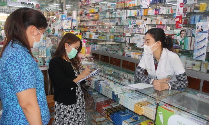 พาณิชย์ลำพูน ลุยตรวจสอบร้านขายหน้ากากอนามัย ป้องกันผู้ค้าหัวหมอฉวยโอกาสปรับราคาขึ้น