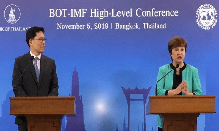 ไอเอ็มเอฟ แนะไทยใช้นโยบายการเงินการคลังช่วยเท่าที่จำเป็น