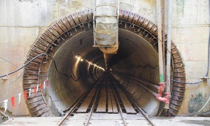 กฟน. อวดโฉมอุโมงค์ไฟฟ้าใต้ดินที่ใหญ่ที่สุดในไทย คาดแล้วเสร็จปลายปี 63