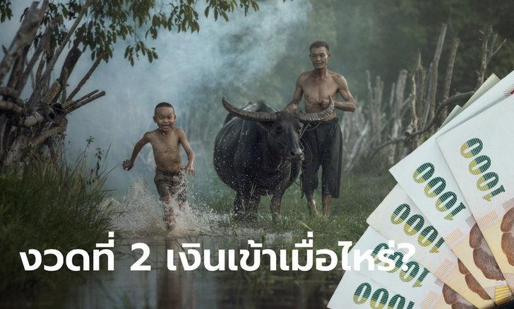 ตรวจสอบเงินเยียวยาเกษตรกร รับ 5,000 บาท งวดที่ 2 เข้าวันไหนของเดือน มิ.ย. 63