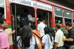เฮ! ต่อเวลารถเมล์ฟรี - รถไฟฟรี