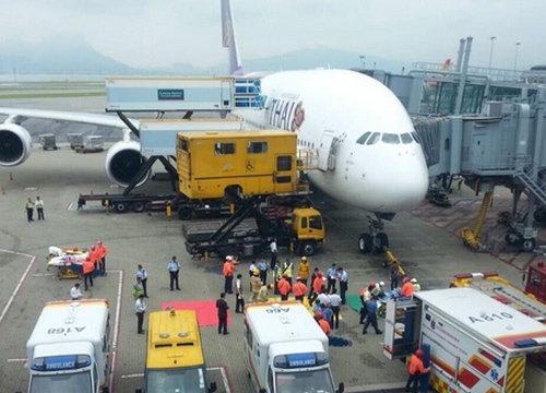 บินไทยแจงคืบหน้าเที่ยวบินปะทะสภาพอากาศ