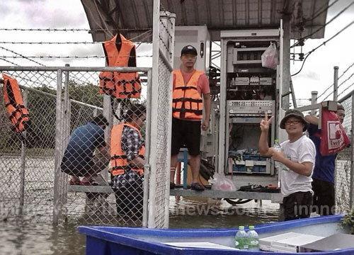 DTACเผยมาตรการช่วยลูกค้าในพื้นที่น้ำท่วม