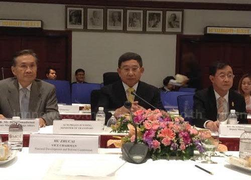 คค.เล็งถกลาวรถไฟทางคู่กรุงเทพฯ-เวียงจันทน์-คุนหมิง