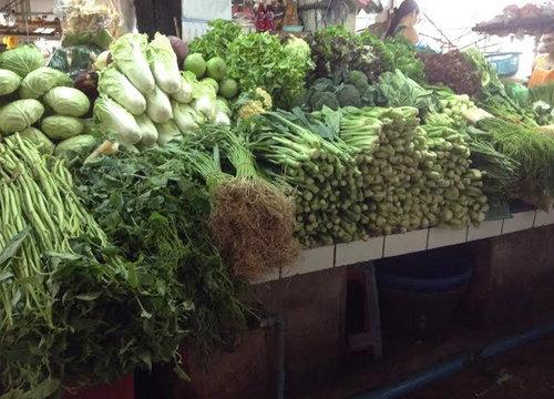 ราคาผักสดตลาดเงินวิจิตรยังทรงตัว