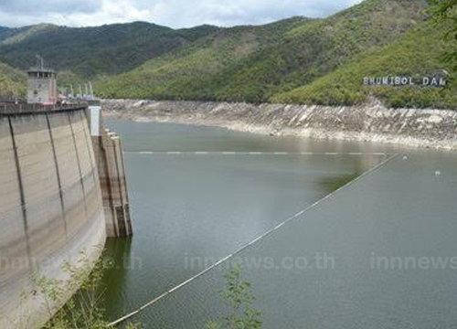 กรมฝนหลวงฯเติมน้ำเขื่อนภูมิพลช่วยพท.เกษตร