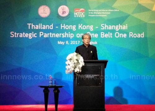 สมคิดเชิญชวนนักลงทุนฮ่องกง-จีนเยือนไทย