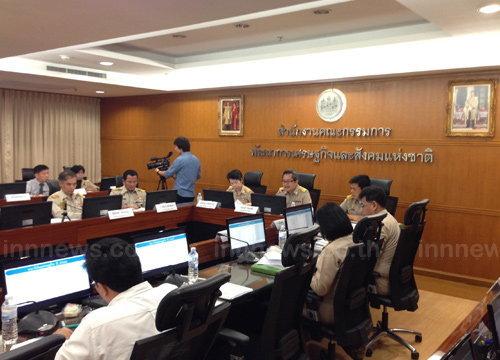 สศช.เผยเศรษฐกิจไทยไตรมาส1/60โต3.3%