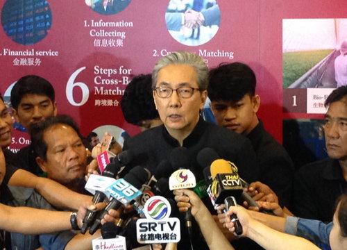 สมคิดดึงธุรกิจจีนจับคู่ไทยเชื่อมลงทุนEEC