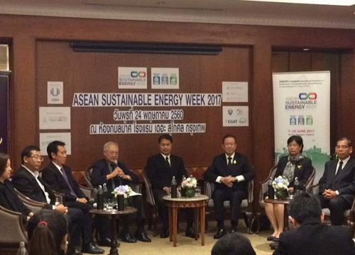 รัฐร่วมเอกชนจัด ASEAN Sustainable Energy Week