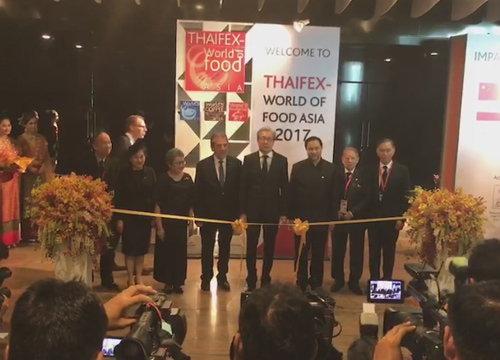 เริ่มแล้ว THAIFEX - World of Food Asia 2017