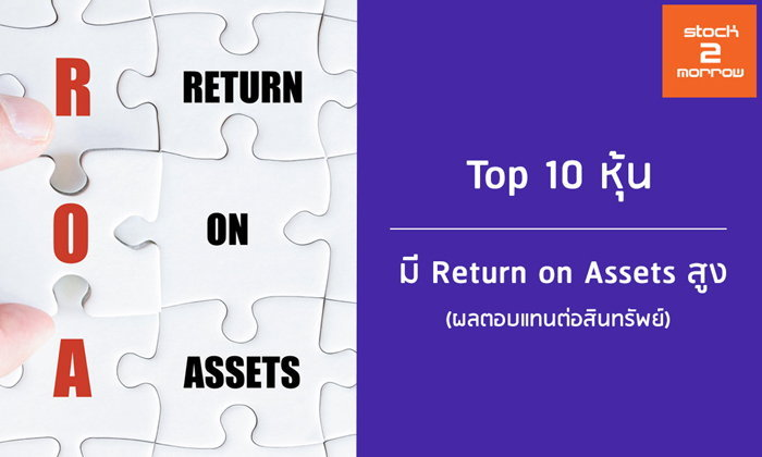 Top 10 หุ้น Return on Assets