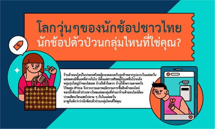 โลกวุ่นๆของนักช้อปออนไลน์ชาวไทย