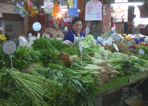 พณ.เผยต้นหอมผักชีมะนาวราคาลง-เนื้อหมูคงที่