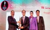 การบินไทยคว้ารางวัลสายการบินยอดเยี่ยม