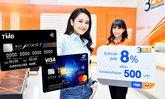 บัตรเครดิตทีเอ็มบีและธนชาต จัดเต็มสิทธิพิเศษถึง 3 ต่อ พร้อมมอบเครดิตเงินคืนสูงสุด 500 บาท