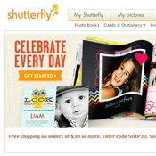 เว็ปไซต์ Shutterfly
