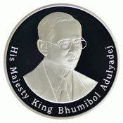 เหรียญกษาปณ์ที่ระลึกช้างไทย  เงินขัดเงา