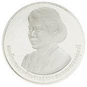 เหรียญกษาปณ์ที่ระลึก WIPO โลหะสีขาว หน้า